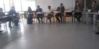 Village was participating in round table discussion at Bujanovac