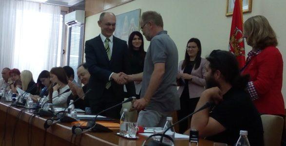 Predsednik UO Vilaža sa Ministrom zaštite životne sredine potpisao ugovor o sufinansiranju projekta